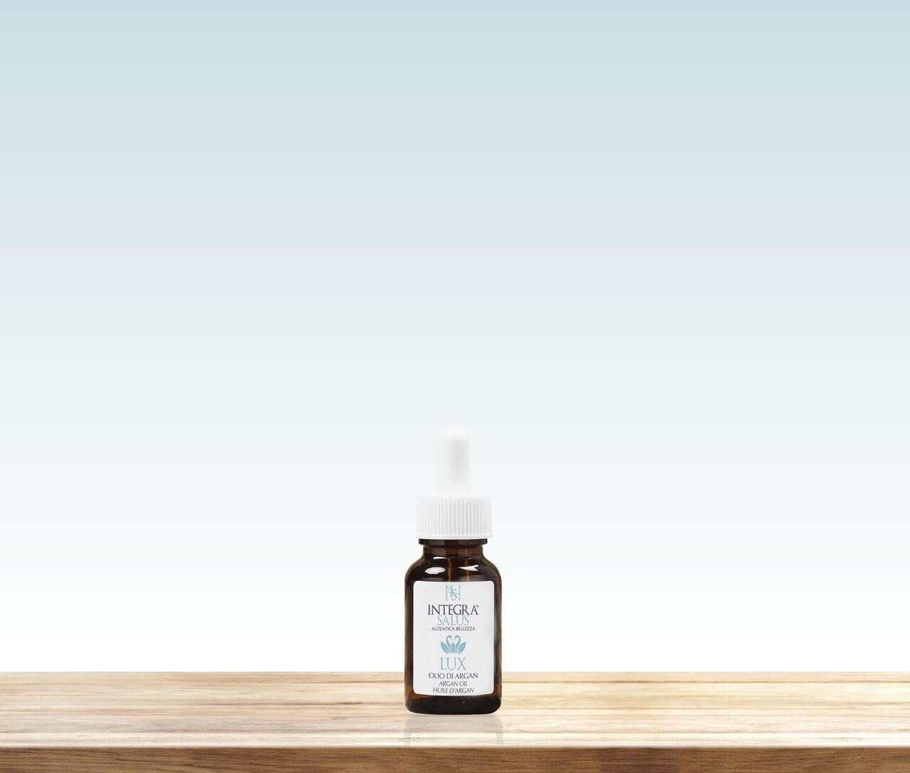 Argan oil - Lux - Integra Salus natural cosmetics - radiance